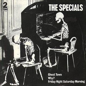 Ghost Town (Specials song) - Image: The Specials Ghost Town UK single