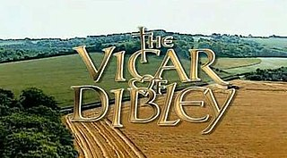 <i>The Vicar of Dibley</i> BBC television situation comedy