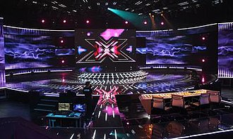 The X Factor (New Zealand TV series) - The X Factor stage