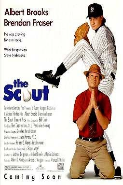 The scout movie poster (1994)