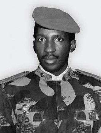 Thomas Sankara - Image: Thomas Sankara