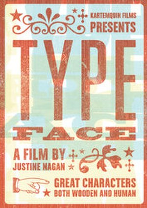 Typeface (film) - Image: Typeface Poster