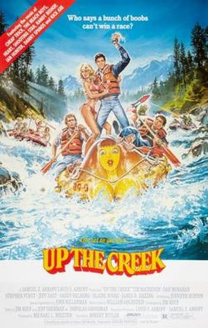 Up the Creek (1984 film) - Up the Creek theatrical poster