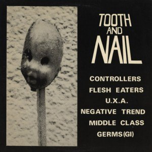 Tooth and Nail (various artists album) - Image: VA Tooth And Nail LP cover