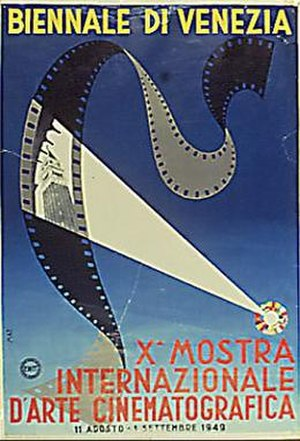 10th Venice International Film Festival - Festial poster