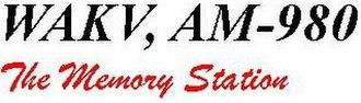 WAKV - Image: WAKV AM 980 logo