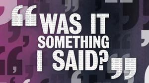 Was It Something I Said? (TV series) - Image: WISIS