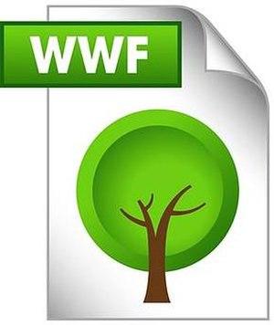 WWF (file format) - Image: WWF File Logo