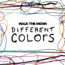 Walk the Moon - Different Colors (studio acapella)
