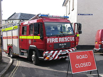 Devon and Somerset Fire and Rescue Service - Water Tender Ladder