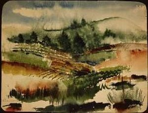 Henry Bannarn - Example Of Henry Bannarn Watercolor