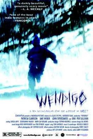 Wendigo (film) - Theatrical release poster