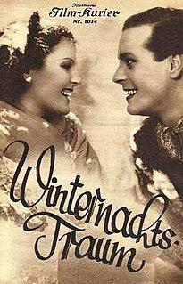 <i>Winter Nights Dream</i> 1935 film by Géza von Bolváry