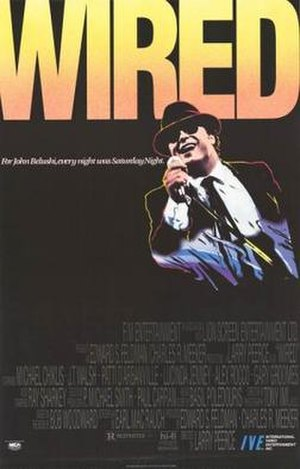 Wired (film) - Video release poster