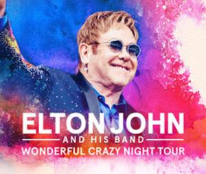 Wonderful Crazy Night Tour - Promotional poster