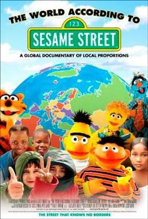 The World According to Sesame Street - Promotional movie poster