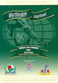 2002 Football League Cup Final football match