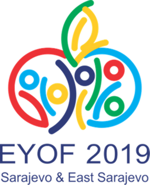 2019 European Youth Olympic Winter Festival - Image: 2019 EYOF Sarajevo&East Sarajevo Logo