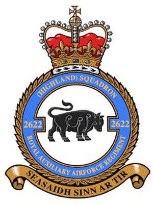 No. 2622 Squadron RAuxAF Regiment - 2622sqn RAuxAF Regiment crest