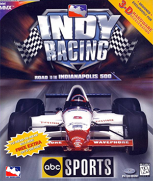 ABC Sports Indy Racing - Cover art