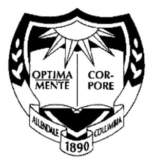 Allendale Columbia School - Image: AC Crest