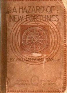 <i>A Hazard of New Fortunes</i> book by William Dean Howells