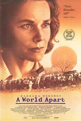 A World Apart (film) - A World Apart (Video Cover)
