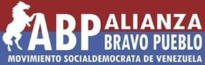 Fearless People's Alliance - Image: Alianza Bravo Pueblo Logo