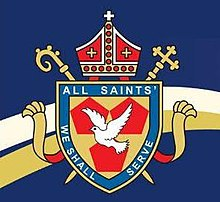 All Saints' School logo.JPG