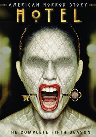 American Horror Story: Hotel - Promotional poster and home media cover art