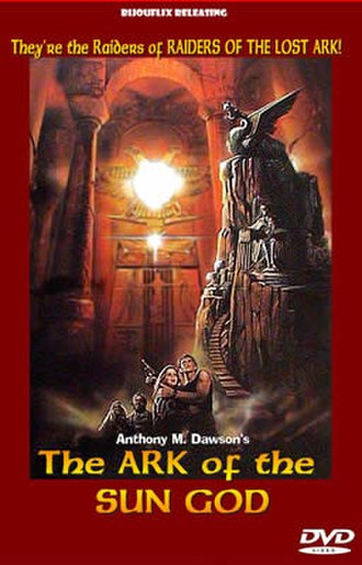 The Ark of the Sun God - DVD cover