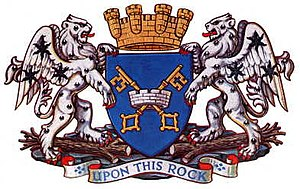 Peterborough - Image: Arms peterborough