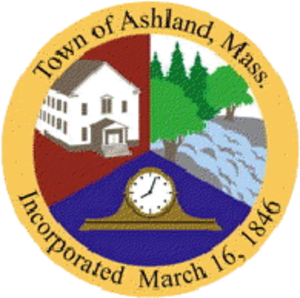 Ashland, Massachusetts - Image: Ashland MA seal