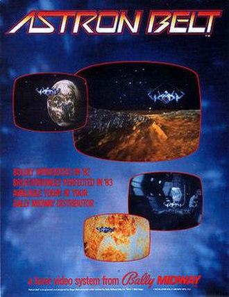 Astron Belt - Promotional flyer for Astron Belt