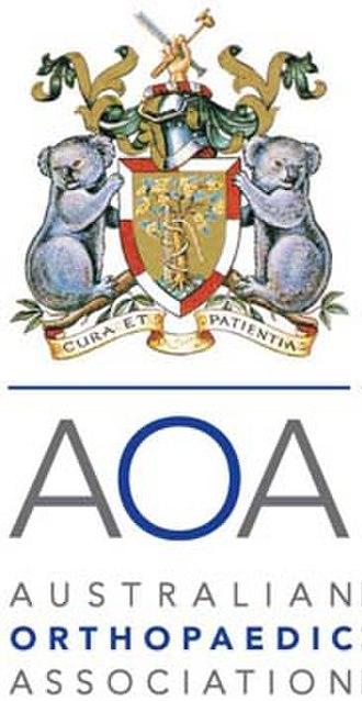 Australian Orthopaedic Association - Image: Australian Orthopaedic Association Logo
