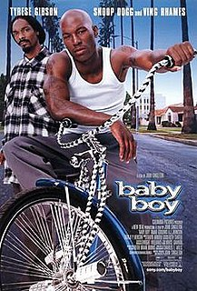 <i>Baby Boy</i> (film) 2001 film directed by John Singleton