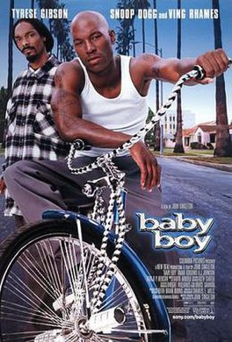 Baby Boy (film) - Theatrical release poster