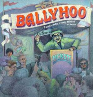Ballyhoo (video game) - Cover art