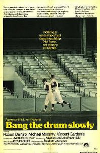 Bang the Drum Slowly (film) - Theatrical release poster