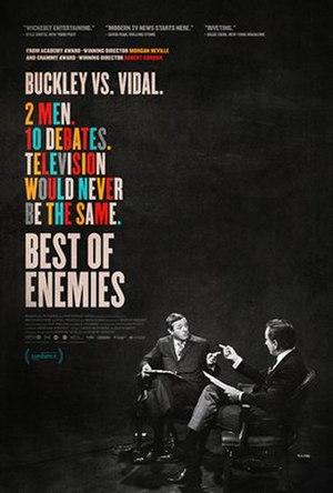 Best of Enemies (2015 film) - Theatrical release poster