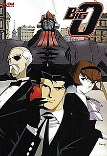 <i>The Big O</i> media franchise consisting mostly of the anime series The Big O