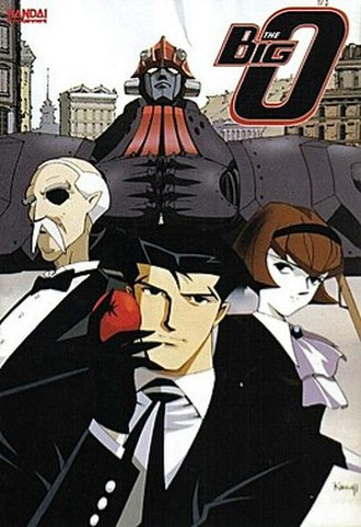 The Big O - Cover art for The Big O Complete Collection DVD release by Bandai Entertainment