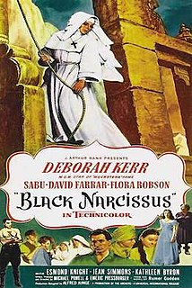 <i>Black Narcissus</i> 1947 British psychological drama film by Michael Powell and Emeric Pressburger