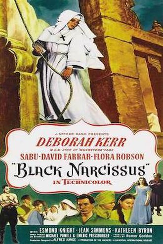 Black Narcissus - Poster