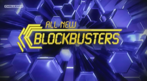 Blockbusters (UK game show) - Title screen for Challenge version of the show