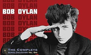 <i>Bob Dylan: The Complete Album Collection Vol. One</i> Forty-seven disc box set by Bob Dylan