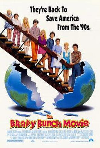 The Brady Bunch Movie - Theatrical release poster