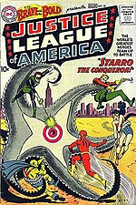 The Brave and the Bold #28: Debut of the Justice League. Art by Mike Sekowsky and Murphy Anderson.