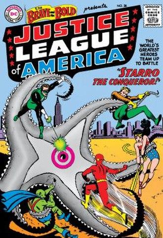 Justice League - Image: Brave bold 28