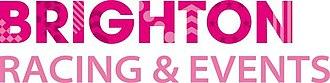 Brighton Racecourse - Image: Brighton Racing & Events logo